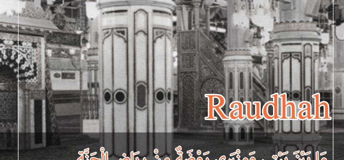 ada apa dengan raudhah